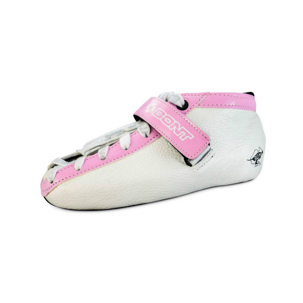 BONT Hybrid Carbon White Boot - with Pink Trim