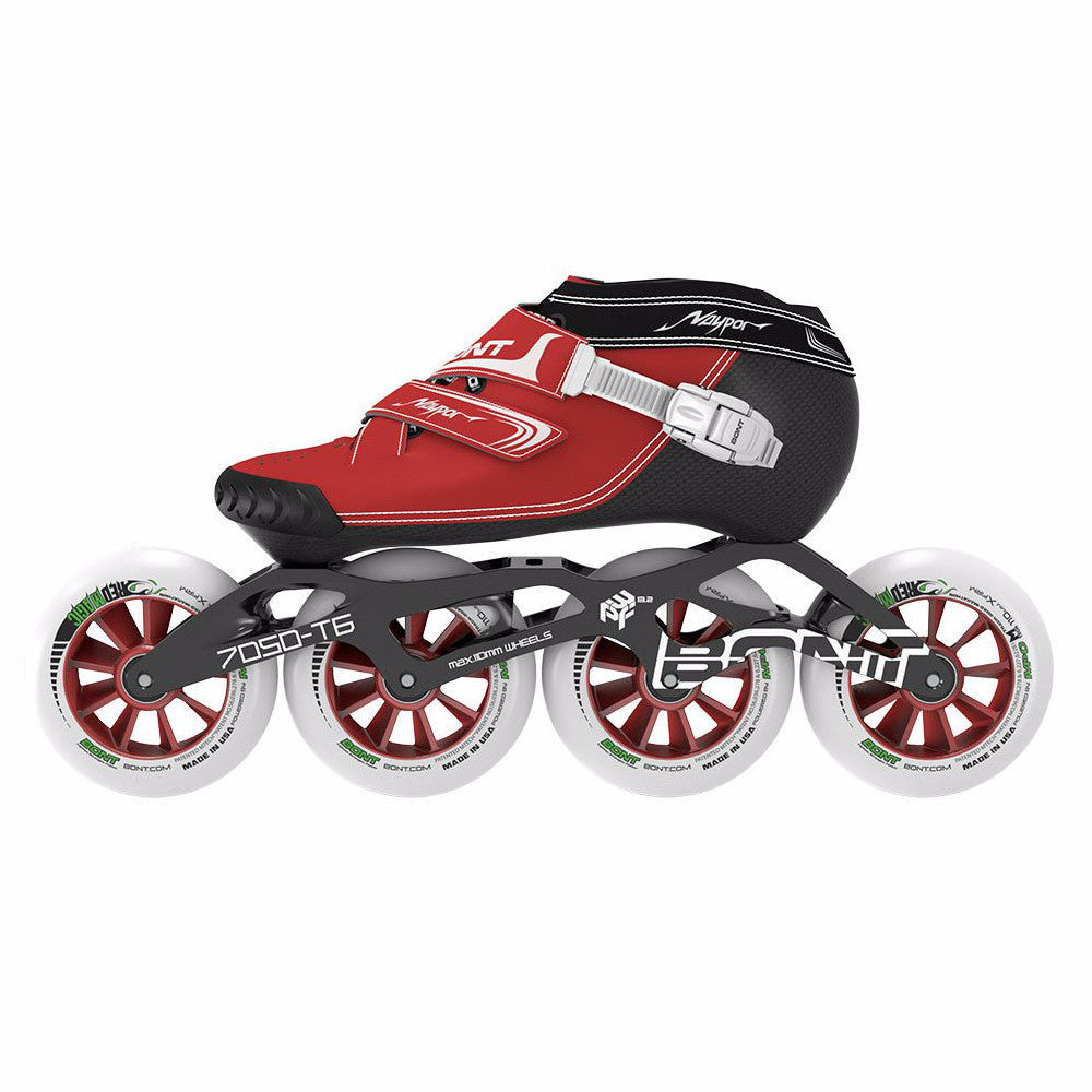 BONT Vaypor 3PF 7050 110mm package Red