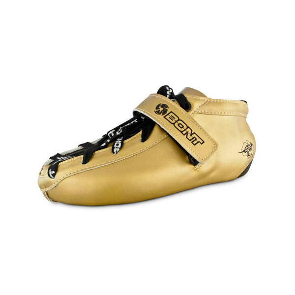 BONT Quad Hybrid Fibreglass Gold Boot
