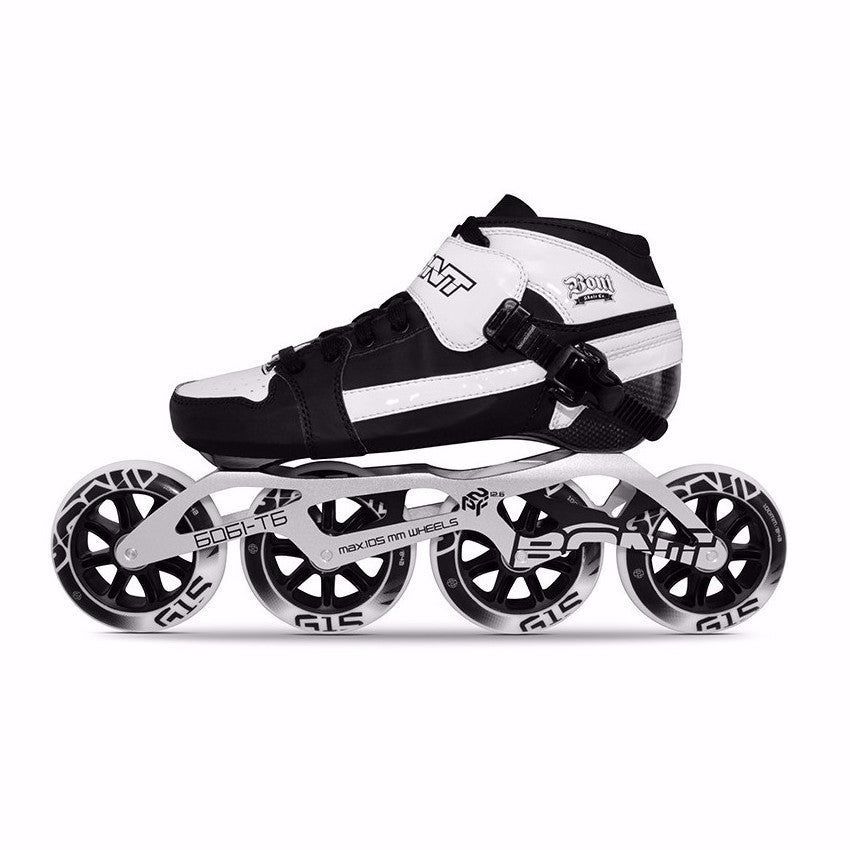Bont-Pursuit-2-Point-Frame-100mm-Inline-Skate-package