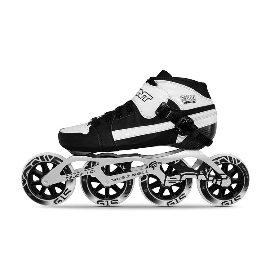 Bont Pursuit 2PF 90mm package Black and White