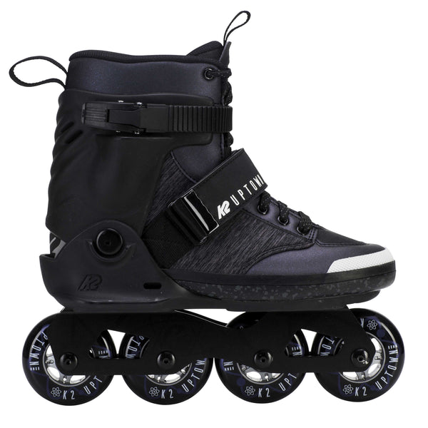 K2 Midtown Inline Skate Black Charcoal Purple