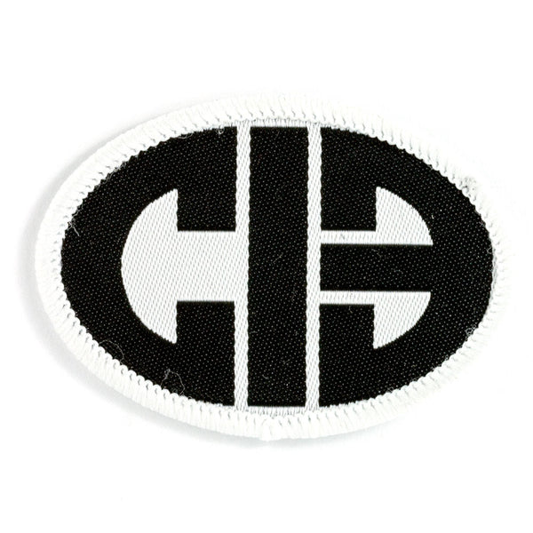 CHICKS IN BOWLS Oval Logo Patch