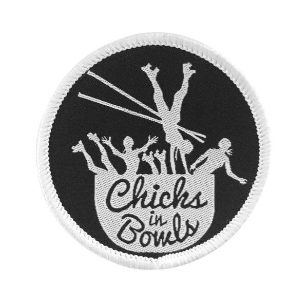 CHICKS IN BOWLS Classic Patch