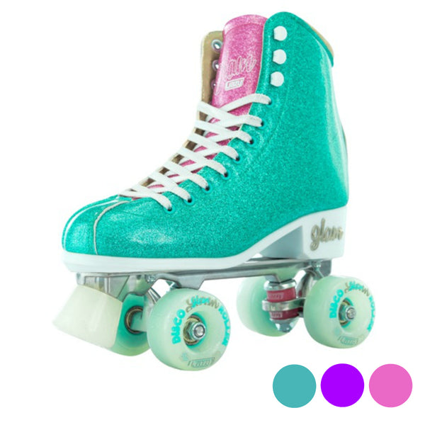 Crazy-Disco-Glam-Roller-Skates-Colour-options