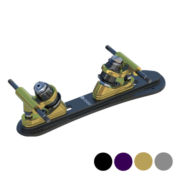 BONT-Infinity-20-degree-NTS-Steel-Quad-Rollerskate-Plate - Colour-Options