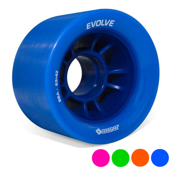 BONT-Evolve-Speed-Quad-Wheel-63mm-Colour-options