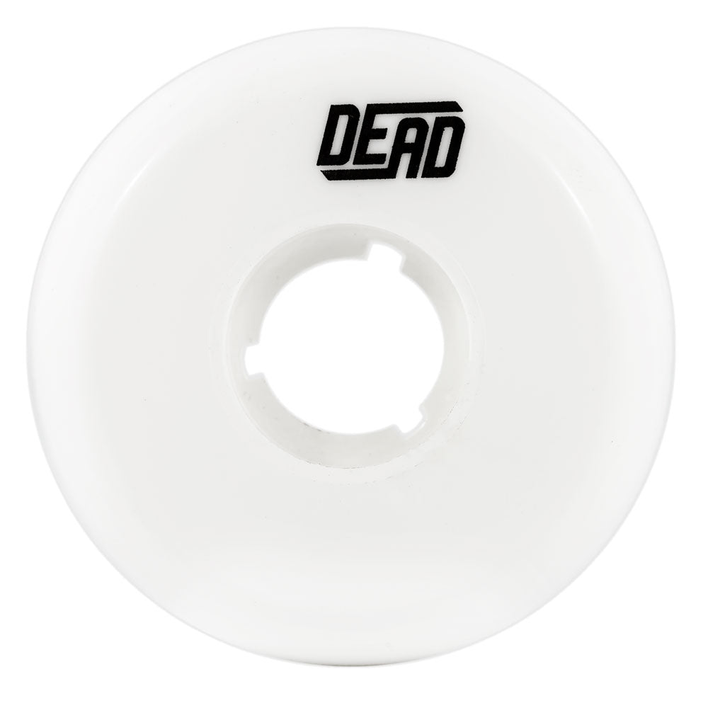 Dead Aggressive Inline Skating Team Wheel White