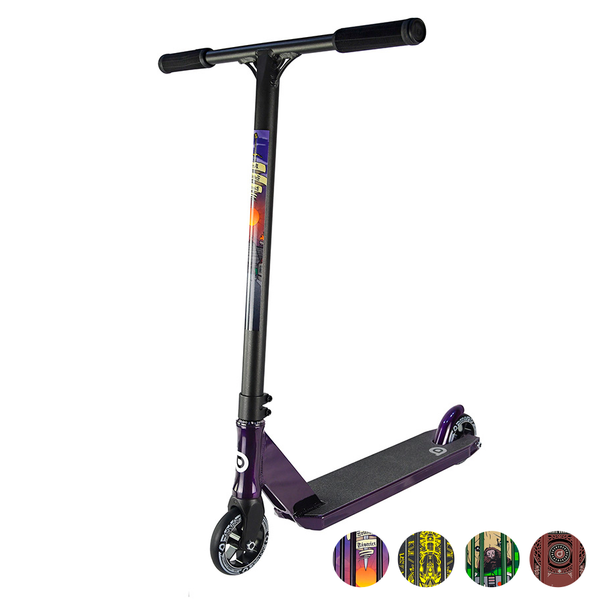 District-C50r-Replica-Scooter-Colour-Options