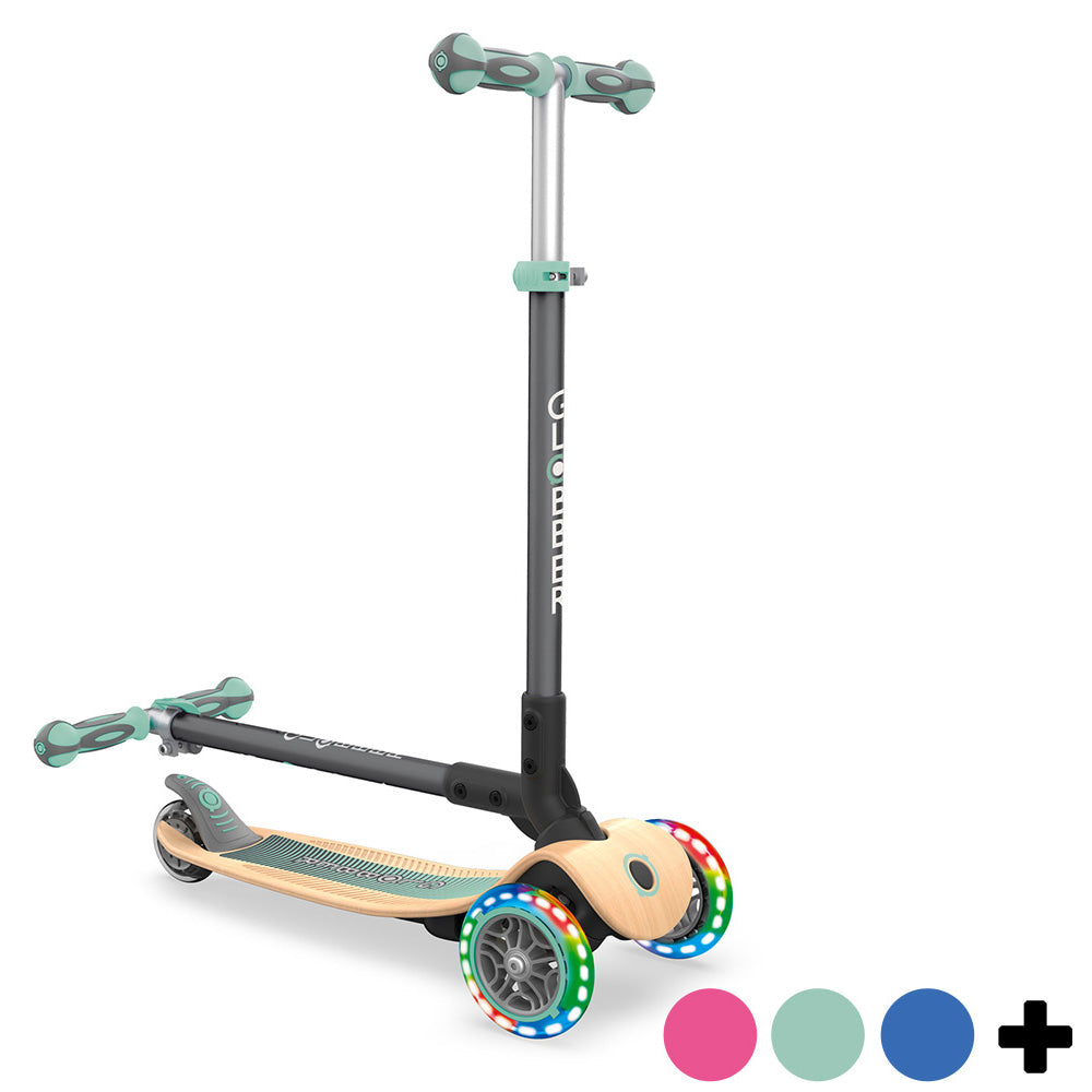 Globber-Primo-Foldable-Wood-Light-Up-Scooter-Colours