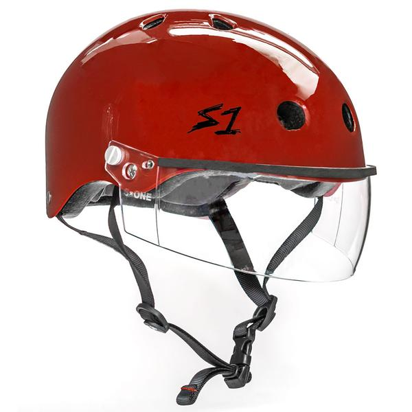 S-ONE Lifer Visor Helmet Red