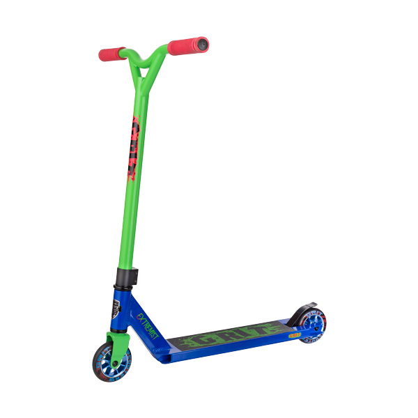 GRIT-Extremist-Freestyle-Scooter-Blue/Green