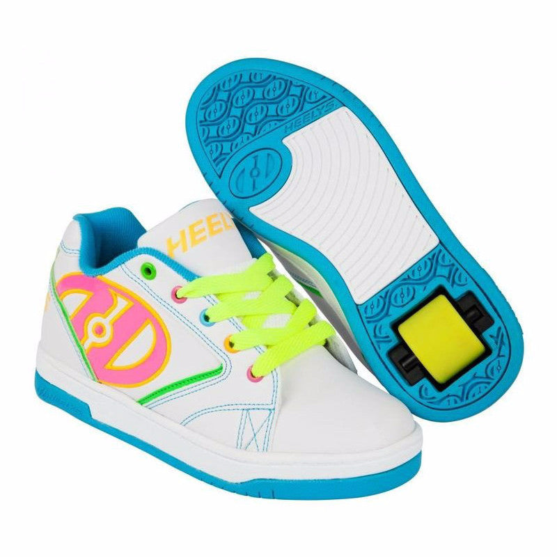 Heelys Propel 2.0 White Multi coloured yellow pink blue green
