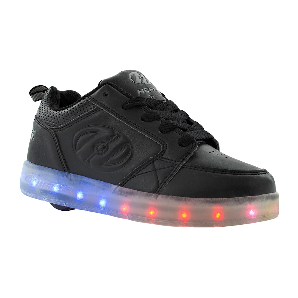 HEELYS Premium Light Up BLACK side