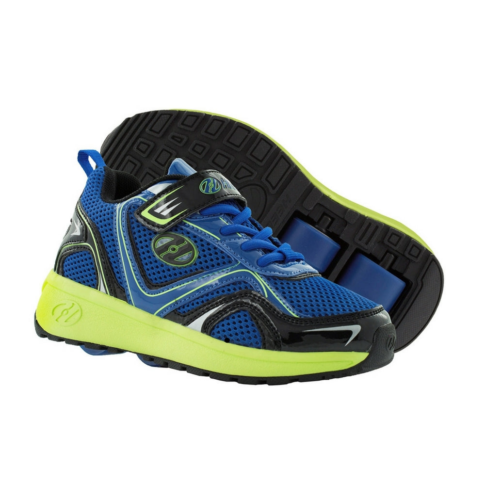 Heelys Rise X2 Blue Bright Yellow and Black roller shoes