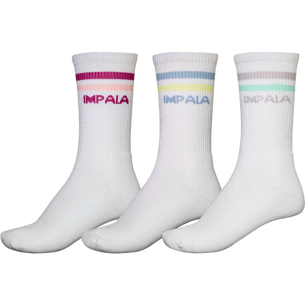 Impala-Pastel-Skate-Socks- Three-Pack