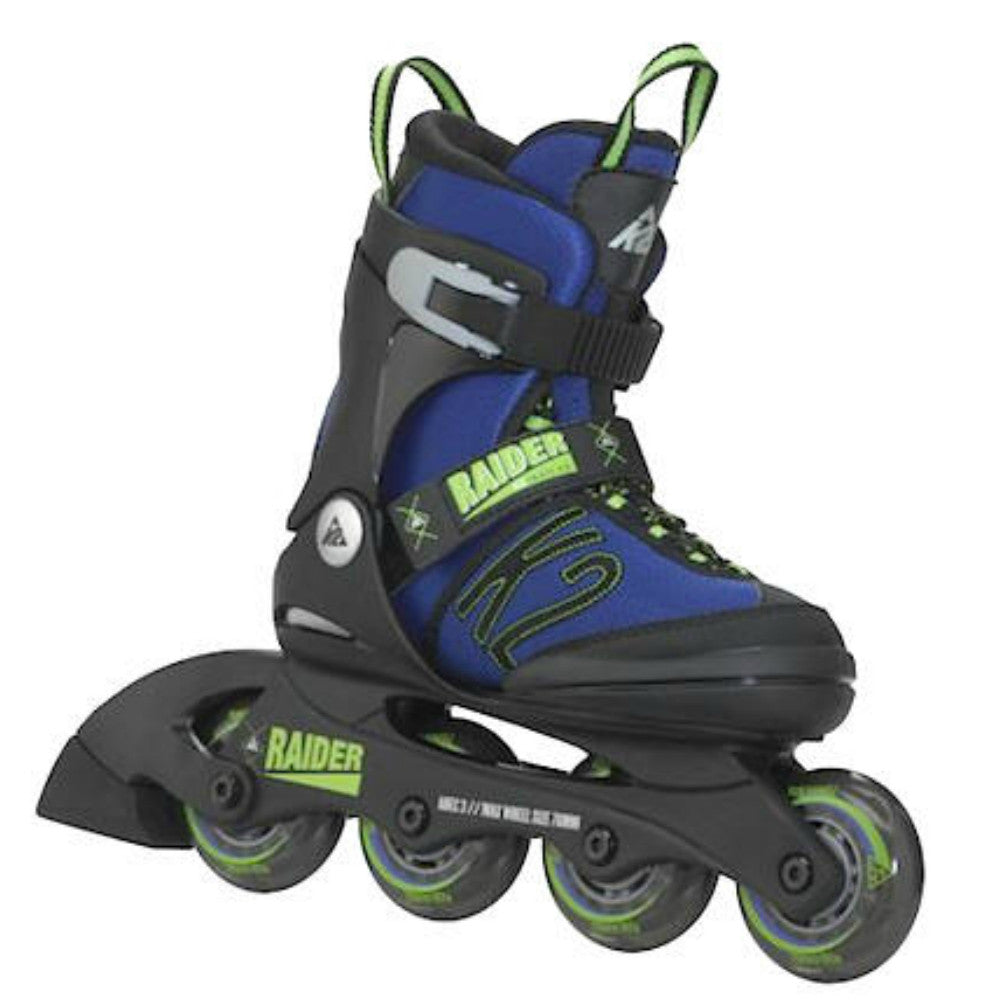 K2 Raider Kids adjustable inline skate