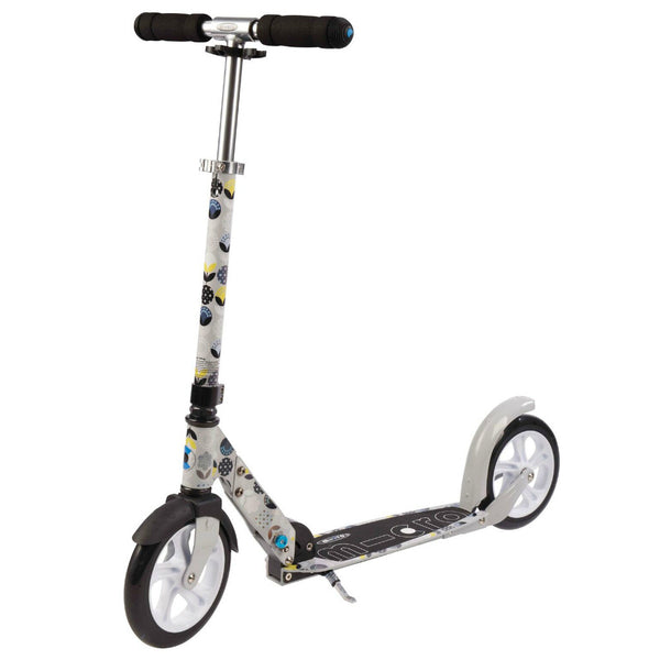 MICRO White Grey Floral Scooter