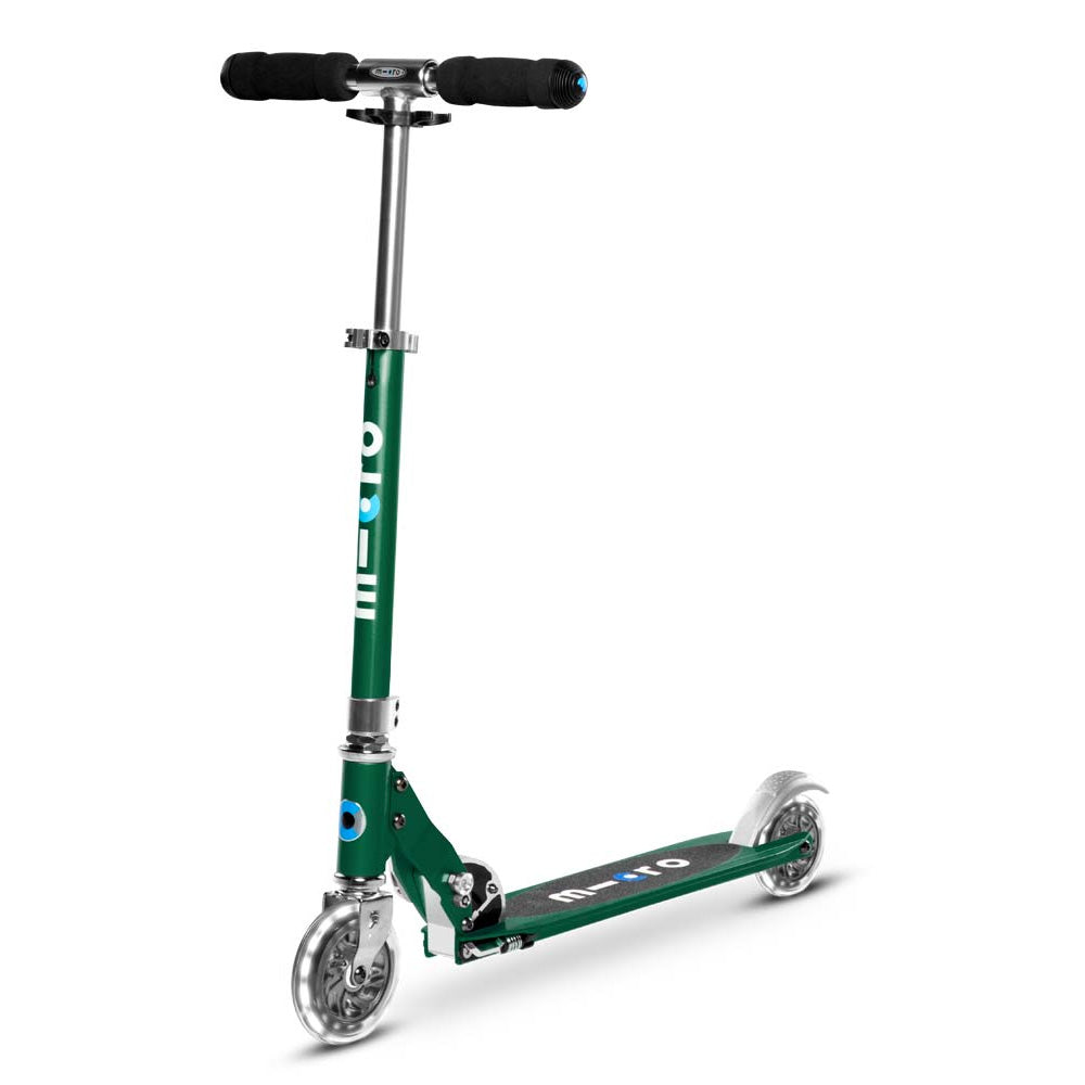 Micro-Sprite-LED-Kick-Scooter-Forest-Green