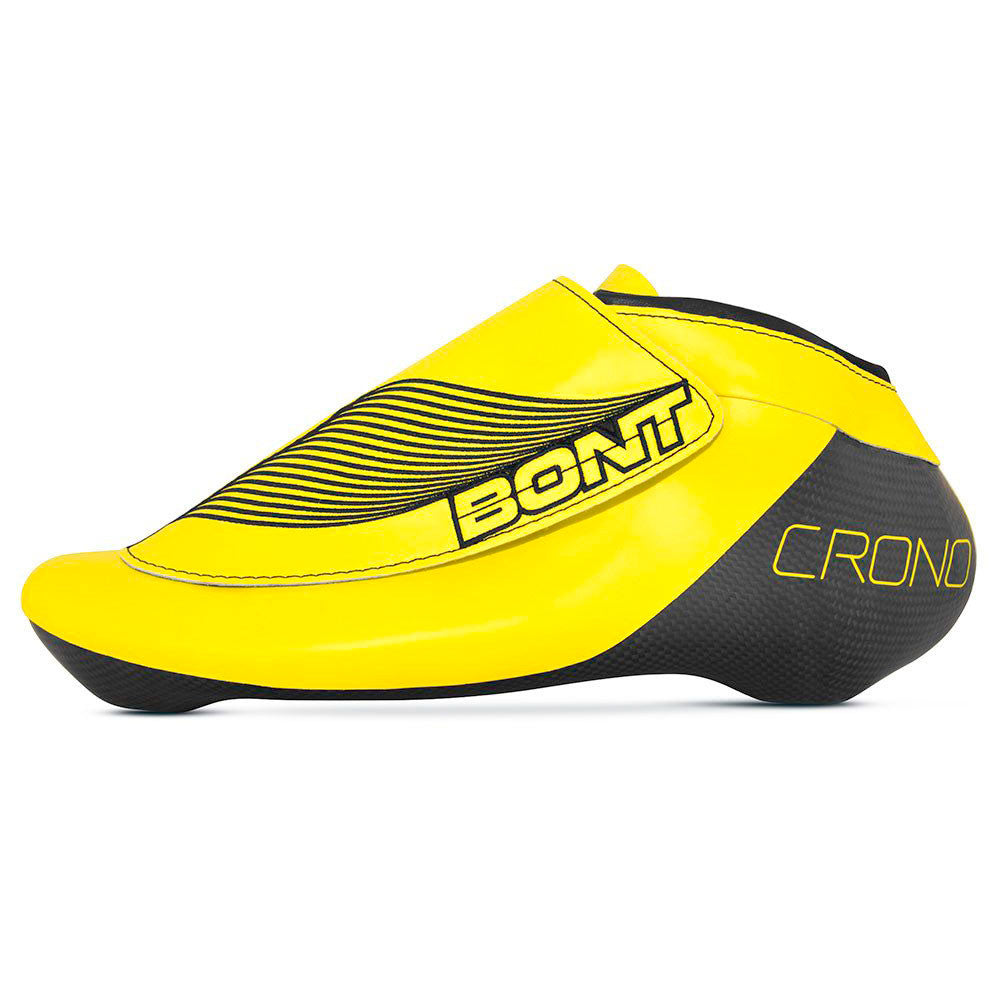 BONT-Crono-Inline-Speed-Skate-boot-side-yellow
