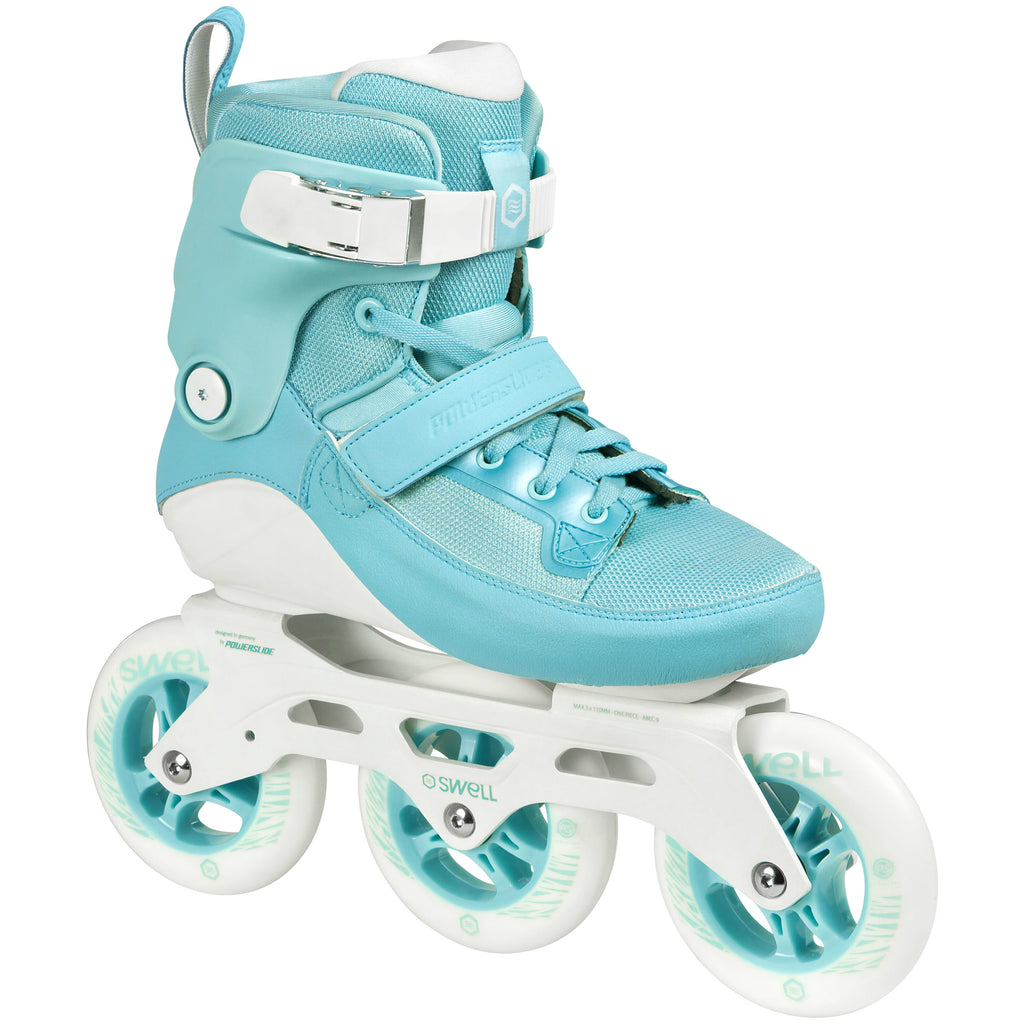 Powerslide-Swell-110mm-Aqua-Ladies-Rollerblades