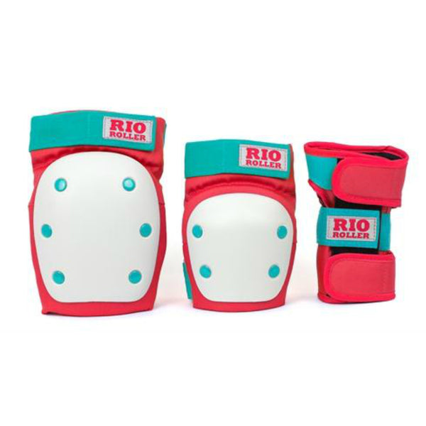 RIO-Triple-Pad-Set-Front-Red
