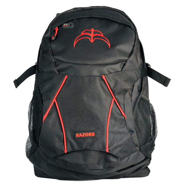 Razors Humble Backpack Red Front View