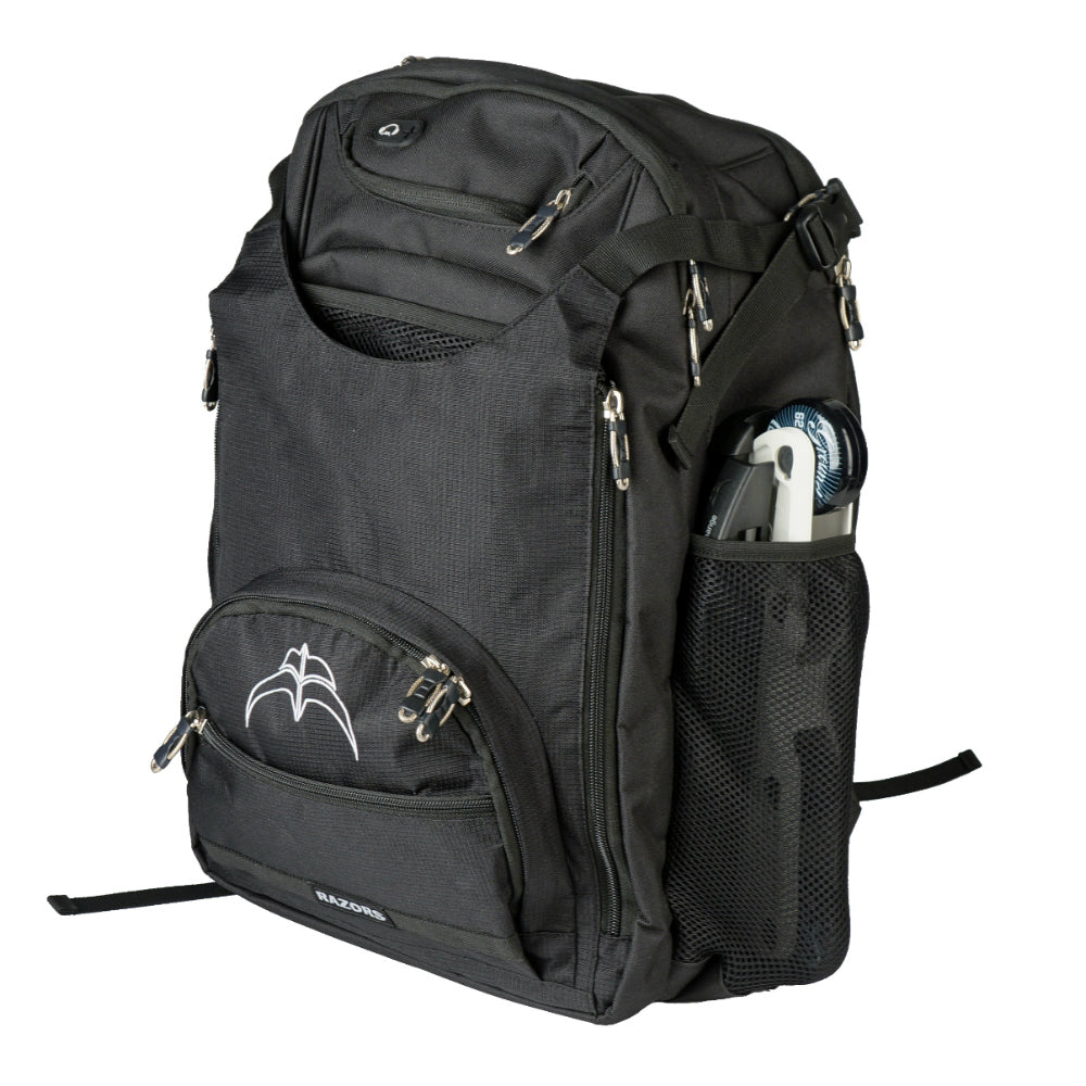Razors Metro Backpack with frames in pocket View