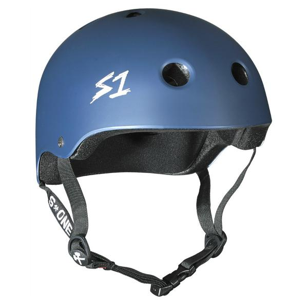 S-One Certified Bike Skate Scooter Helmet Navy