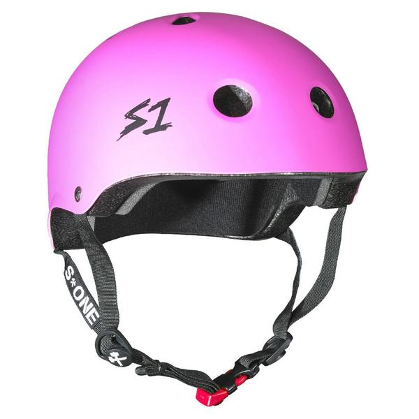 S-One Certified Bike Skate Scooter Helmet Pink
