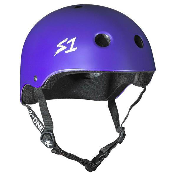 S-One Lifer Certified Bike Skate Scooter Helmet Purple
