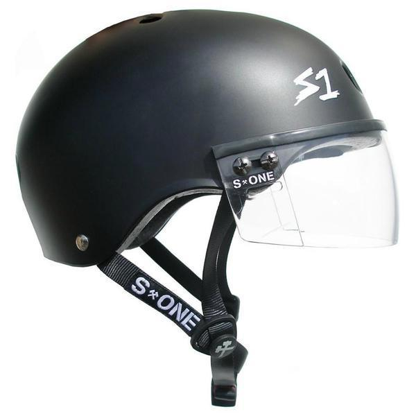 S-ONE Lifer Visor Helmet Matte Black
