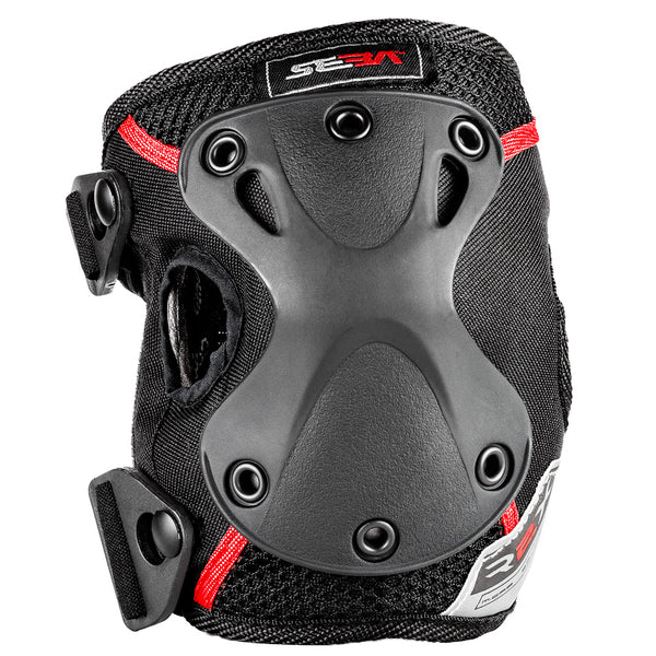 Seba-Pro-Knee-Guard-Zipper-Closure-Front-View