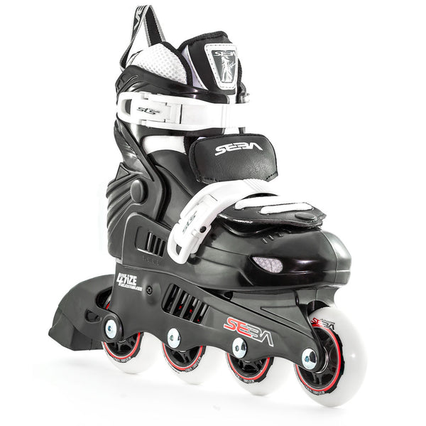 SEBA Junior Adjustable Inline Skate Black