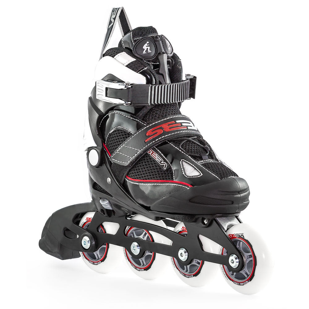 SEBA Soft Junior Adjustable Inline Skate Angled
