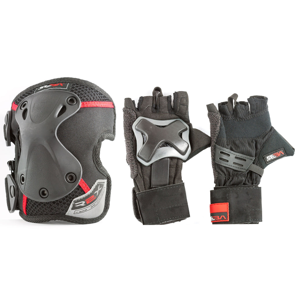 SEBA Twin Protective Pack Knee and Wrist Guards