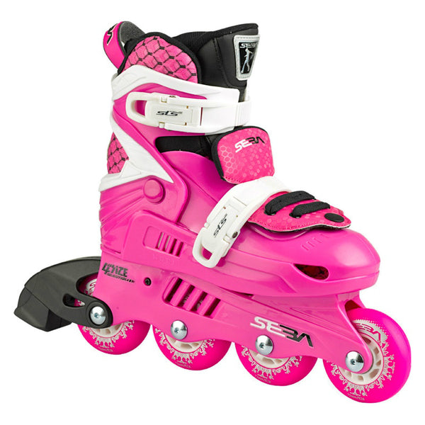 SEBA Junior Adjustable Inline Skate Pink