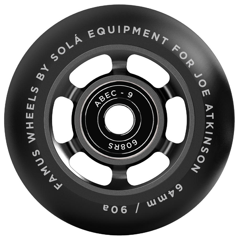 Sola Wheels 4 Pack 64mm with Bearings