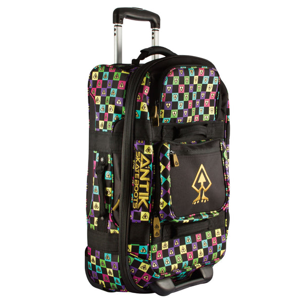 ANTIK Wheelie Bag Multi Colour, closed
