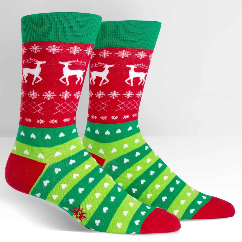 Sock-It-To-Me-Tacky-Holiday-Sweater-Mens-Socks