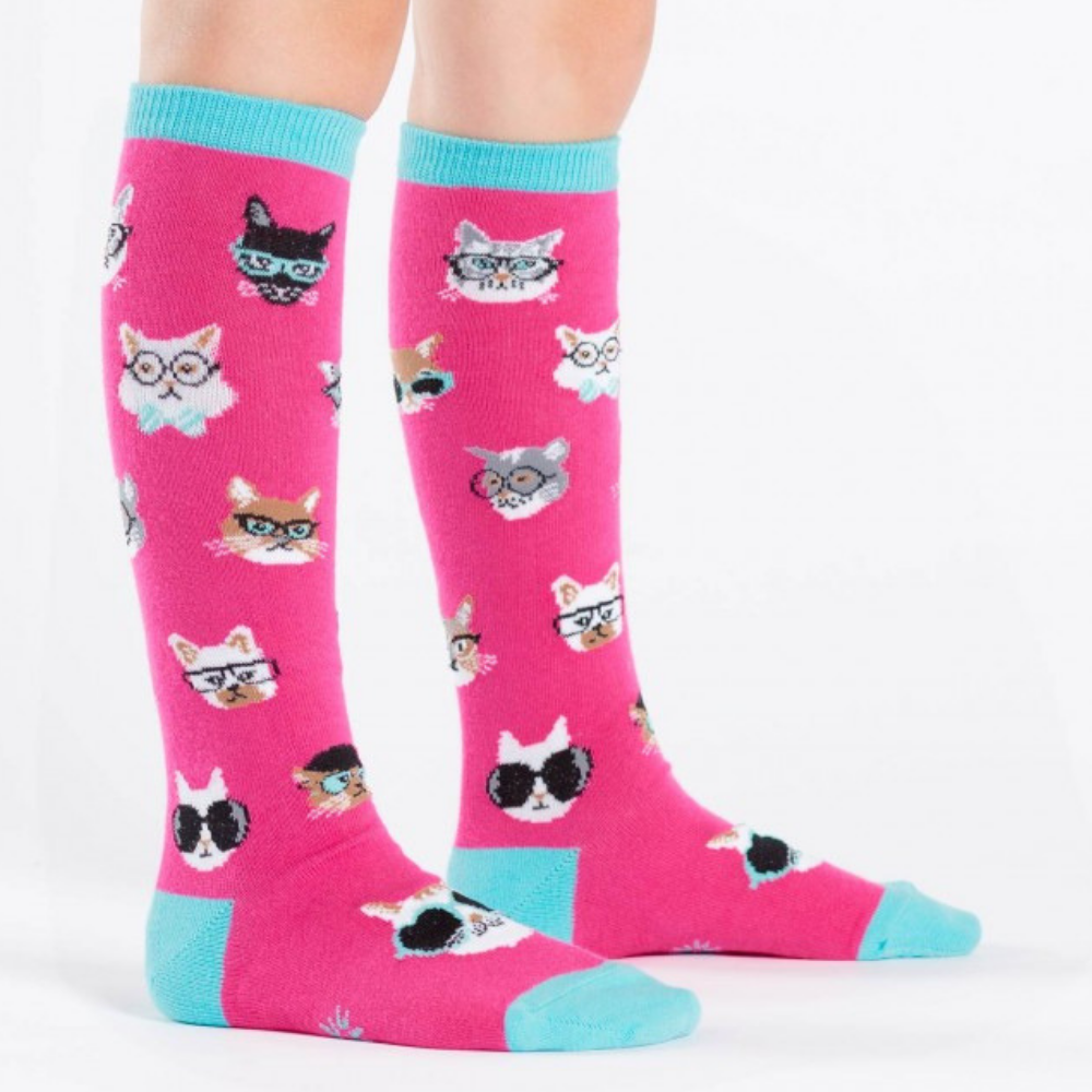 Sock-It-To-Me-Smarty-Cats-Junior-Socks