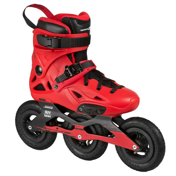 Powerslide SUV125 Imperial skates! Offroad heaven!