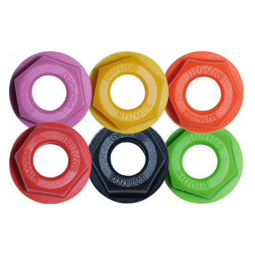 BIONIC Lock Nuts, All Colours