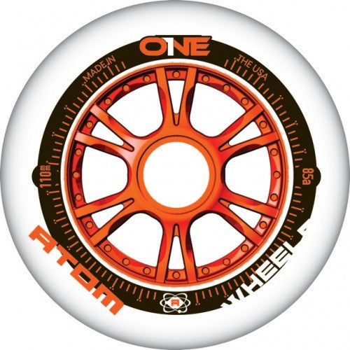 ATOM ONE Natur-Orange 105mm 85a wheel