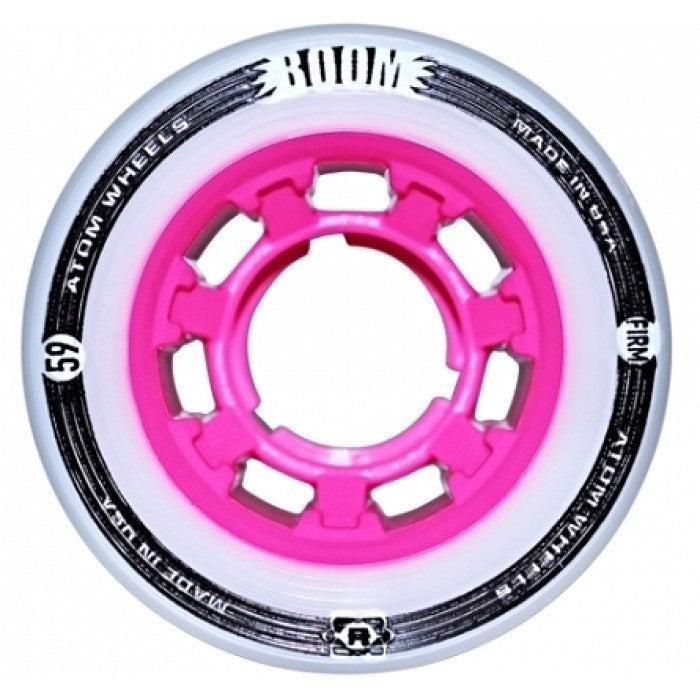 ATOM Boom Quad Wheel 59mm/38mm, Pink, Firm