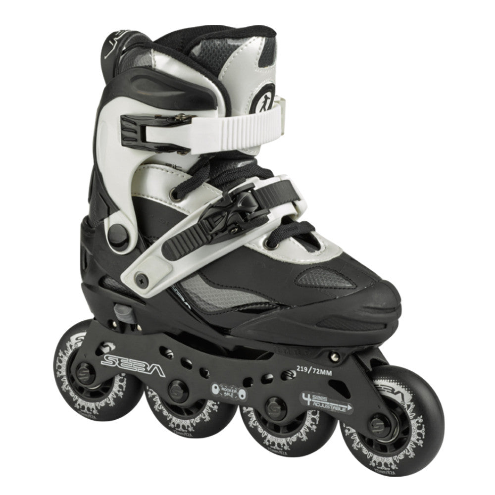 SEBA Adjustable Kids Skate Black