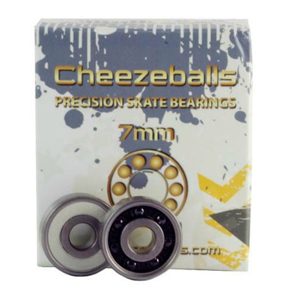CHEEZEBALLS Swiss Ceramic 7mm Inline Skate Bearings