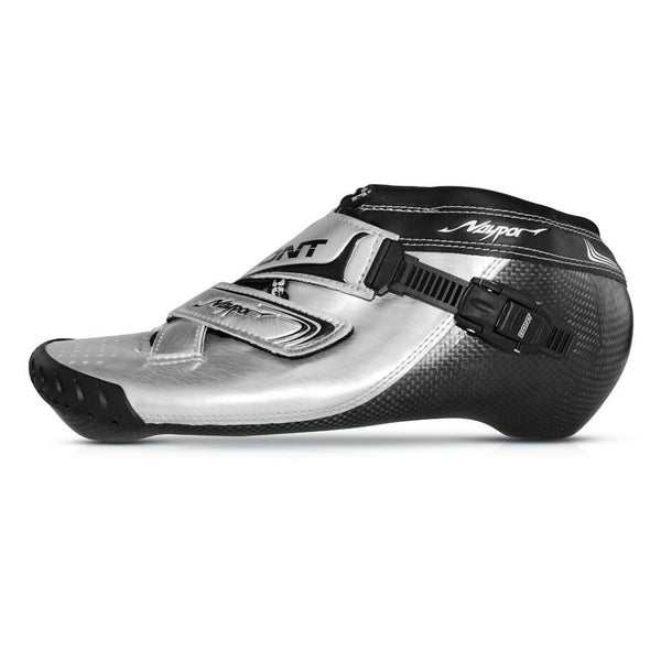 BONT Inline Vaypor Boot Full Custom from Cast Silver