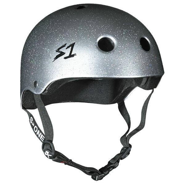 S-ONE Lifer Helmet Silver Glitter