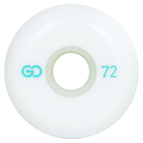 GO PROJECT 72mm wheels white